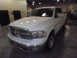 2012 Bright White Dodge Ram 1500 Laramie Crew Cab 4x4 #72246444