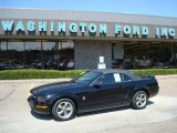 2006 Black Ford Mustang V6 Premium Convertible #7227264