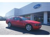 2007 Redfire Metallic Ford Mustang V6 Premium Coupe #72245624