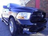 2012 Black Dodge Ram 1500 Express Crew Cab 4x4 #72246443