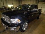 2012 Black Dodge Ram 1500 Laramie Quad Cab 4x4 #72246441