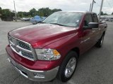 2012 Deep Cherry Red Crystal Pearl Dodge Ram 1500 Big Horn Quad Cab 4x4 #72246440
