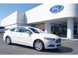 2013 White Platinum Metallic Tri-coat Ford Fusion SE #72245616