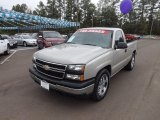 2006 Silver Birch Metallic Chevrolet Silverado 1500 Regular Cab #72246029