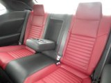 2013 Dodge Challenger R/T Rear Seat