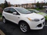2013 White Platinum Metallic Tri-Coat Ford Escape Titanium 2.0L EcoBoost 4WD #72245597