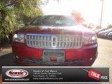 2008 Vivid Red Metallic Lincoln MKZ Sedan #72245404