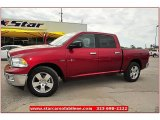2012 Deep Cherry Red Crystal Pearl Dodge Ram 1500 Lone Star Crew Cab #72245842