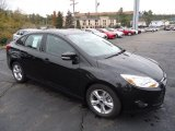 2013 Tuxedo Black Ford Focus SE Sedan #72245595