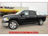 2012 Black Dodge Ram 1500 Lone Star Crew Cab #72245841