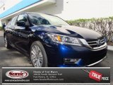 2013 Obsidian Blue Pearl Honda Accord Sport Sedan #72245399