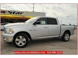 2012 Bright Silver Metallic Dodge Ram 1500 Lone Star Crew Cab #72245840