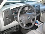 2013 Chevrolet Silverado 1500 Work Truck Extended Cab 4x4 Steering Wheel