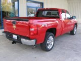 2013 Victory Red Chevrolet Silverado 1500 LTZ Extended Cab 4x4 #72246764