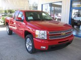 2013 Victory Red Chevrolet Silverado 1500 LTZ Extended Cab #72246763