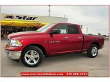 2012 Deep Cherry Red Crystal Pearl Dodge Ram 1500 Lone Star Quad Cab #72245839