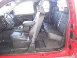 2013 Chevrolet Silverado 1500 LTZ Extended Cab Ebony Interior