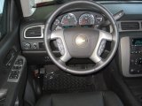 2013 Chevrolet Silverado 1500 LTZ Extended Cab Steering Wheel