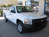 2013 Summit White Chevrolet Silverado 1500 Work Truck Regular Cab #72246762