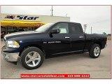 2012 True Blue Pearl Dodge Ram 1500 Lone Star Quad Cab #72245838