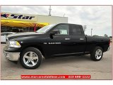 2012 Black Dodge Ram 1500 Lone Star Quad Cab #72245837