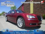 2012 Deep Cherry Red Crystal Pearl Chrysler 300 C #72246386