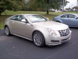 Silver Coast Metallic Cadillac CTS in 2013
