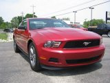 2011 Red Candy Metallic Ford Mustang V6 Premium Coupe #72246356