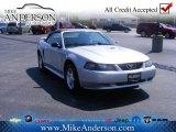 2001 Silver Metallic Ford Mustang V6 Convertible #72246353
