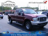 2004 Dark Toreador Red Metallic Ford F250 Super Duty XL SuperCab 4x4 #72246351