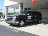 2005 Dark Green Metallic Chevrolet Silverado 1500 LS Crew Cab #72246345