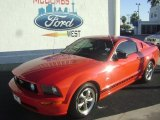 2006 Torch Red Ford Mustang GT Premium Coupe #72245551