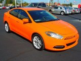2013 Header Orange Dodge Dart SXT #72245981