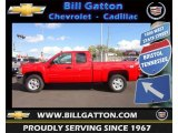 2012 Victory Red Chevrolet Silverado 1500 LT Extended Cab 4x4 #72246138