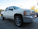 2013 White Diamond Tricoat Chevrolet Silverado 1500 LT Crew Cab #72245755