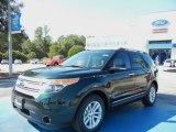 2013 Green Gem Metallic Ford Explorer XLT #72346669