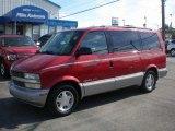 1999 Light Carmine Red Metallic Chevrolet Astro LT AWD Passenger Van #72347288