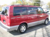 Light Carmine Red Metallic Chevrolet Astro in 1999