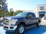 2012 Dark Blue Pearl Metallic Ford F250 Super Duty XLT SuperCab 4x4 #72346661