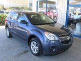 2013 Atlantis Blue Metallic Chevrolet Equinox LS #72347285