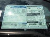 2013 Ford F150 Platinum SuperCrew 4x4 Window Sticker