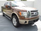 2012 Golden Bronze Metallic Ford F150 Lariat SuperCrew 4x4 #72346859