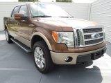 2012 Golden Bronze Metallic Ford F150 Lariat SuperCrew 4x4 #72346859