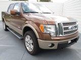2012 Golden Bronze Metallic Ford F150 Lariat SuperCrew 4x4 #72346858