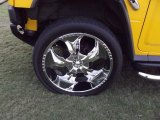 2006 Hummer H2 SUV Custom Wheels