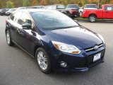2012 Kona Blue Metallic Ford Focus SEL 5-Door #72347250