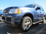 Medium Wedgewood Blue Metallic Ford Explorer in 2004