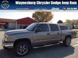 2006 Graystone Metallic Chevrolet Silverado 1500 Z71 Crew Cab 4x4 #72346846
