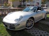 2007 Arctic Silver Metallic Porsche 911 Carrera 4S Cabriolet #72347150