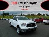 2013 Super White Toyota Tundra SR5 Double Cab #72346928